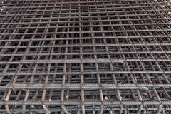 Steel rods used in reinforce construction Royalty Free Stock Photos