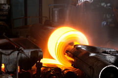 Steel Roll Stock Photo