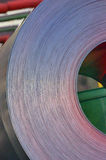 Steel  Rolled Coil. Steel Hot Rolled Coil inside of steel plant Stock Photo