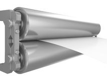 Steel roller Royalty Free Stock Photo