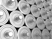 Steel roller Royalty Free Stock Image