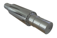 Steel rollers Stock Photo