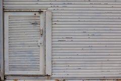 Steel Rolling Door Storage Royalty Free Stock Photo