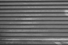 Steel Rolling Shutter. At the warehouse Stock Photography
