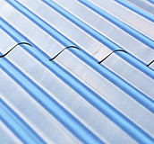 Steel roof Stock Photography