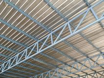Steel roof Royalty Free Stock Photography