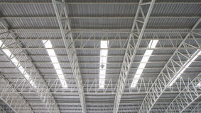 Steel roof. Royalty Free Stock Photos