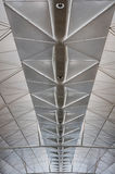 Steel roof structure Stock Photography