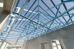 Steel Roof-09 Royalty Free Stock Photography