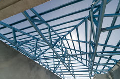 Steel Roof-10 Royalty Free Stock Photo