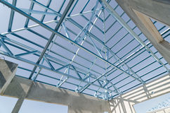 Steel Roof-12 Royalty Free Stock Photo