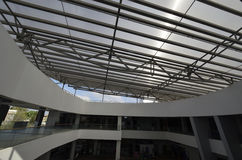 Steel roof structures Stock Photography