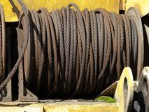 Steel rope Stock Images