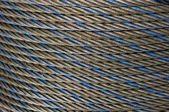Steel rope Stock Image