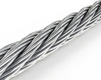 The steel rope Stock Photography