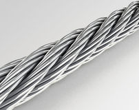 The steel rope Royalty Free Stock Image