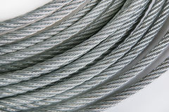 Steel rope Royalty Free Stock Photos