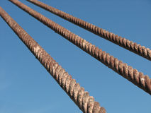 Steel ropes Royalty Free Stock Photography