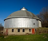 Steel Round Barn Royalty Free Stock Images
