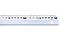 Steel ruler Stock Photos