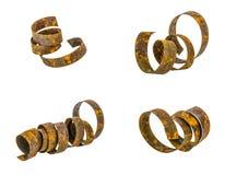 Steel rust ribbon Royalty Free Stock Photos