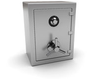 Steel safe Stock Image