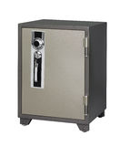 Steel safe furniture Royalty Free Stock Image