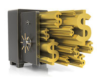 Steel Safe Royalty Free Stock Images