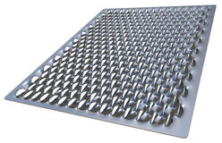 Steel safety grating Stock Photos