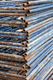 Steel scaffolding , building construction Royalty Free Stock Photo