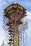 Steel Scaffolding Tower Royalty Free Stock Photo