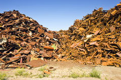 Steel Scrap Heap Stock Photos