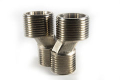 Steel screw Royalty Free Stock Photo