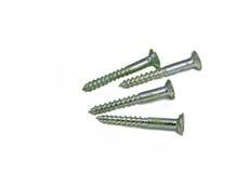 Steel screws Royalty Free Stock Photography