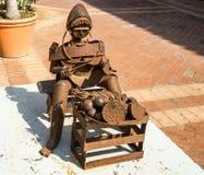 Steel sculpture Stock Image