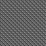 Steel seamless background with waves Stock Photo
