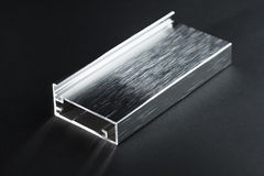 Steel shape section Royalty Free Stock Photo