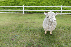 Steel sheep Royalty Free Stock Images