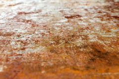 Steel sheet of iron corroded by rust (background). Very old. Str Stock Images