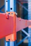 Steel shelf of Industrial tool Stock Image