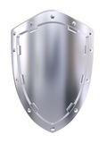 Steel shield Stock Photo