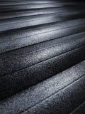 Steel shutter 03. Stainless steel shutter Stock Photography