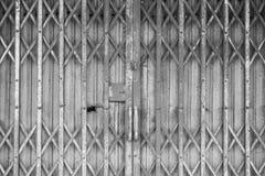 Steel shutter door Royalty Free Stock Photos