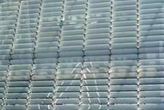 Steel Shutter Lines Background Stock Images
