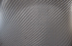 Steel sieve as texture or background.  Royalty Free Stock Photo