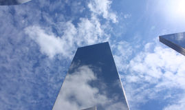 Steel Sky Seven Stock Image