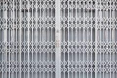 Steel sliding door Royalty Free Stock Photo