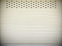 Steel sliding doors , Metal sheet slide door texture Stock Photos