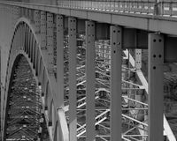 Steel span stock photos