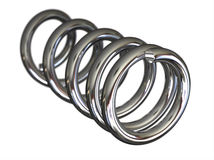 Steel spring Stock Photography